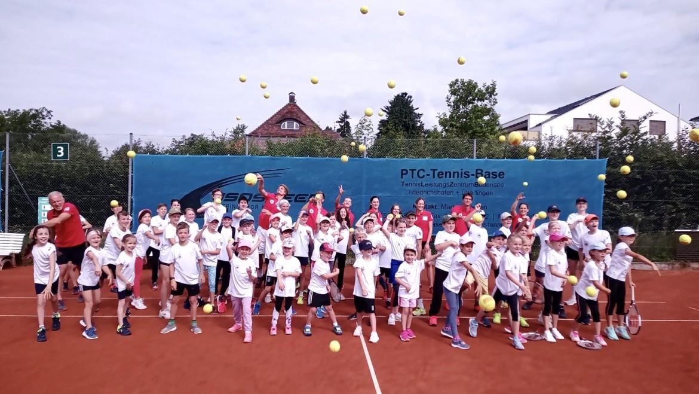 Eindrücke von unserem Tenniscamp im August 2021