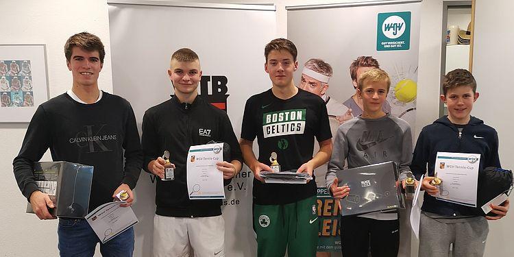 Drei Bezirksmeistertitel für die TCF-Jugend