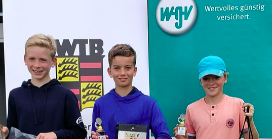 WGV-Tennis-Cup: Jugend-Bezirksmeisterschaften