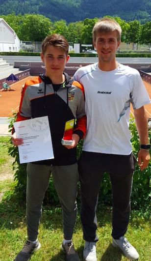 Jakob Feyen wird Zweiter bei Baden-Württembergischen Jugendmeisterschaften