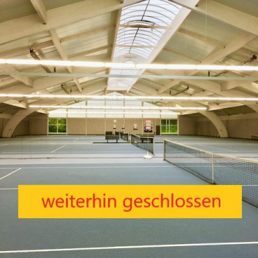 Tennishalle, Stand 11.01.2021
