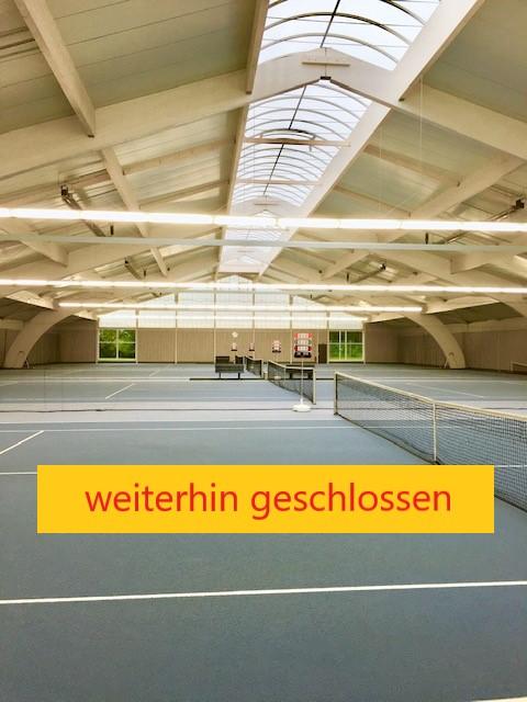 Tennishalle, Stand 11.01.2021 – Aktualisierung 15.02.2021