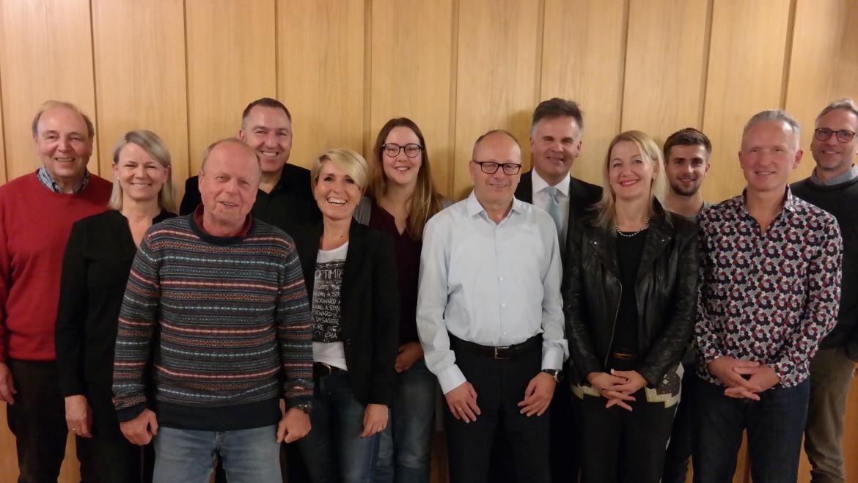 Jahreshauptversammlung 18.12.2018 – Der Neubau des Vereinsheims und Ehrungen stehen im Mittelpunkt beim TCF